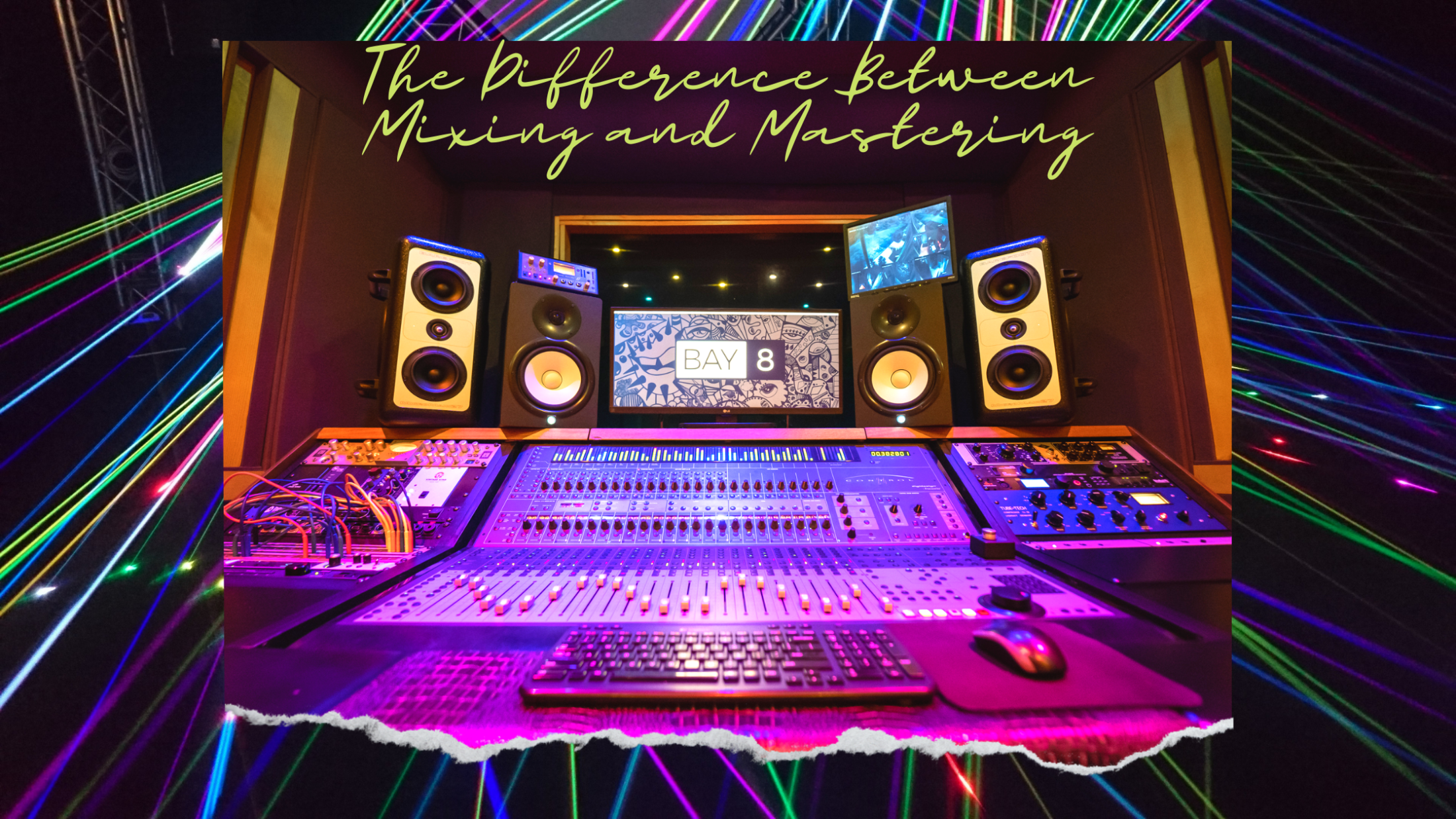 Bay Eight Recording Studios The Difference Between Mixing and Mastering 2