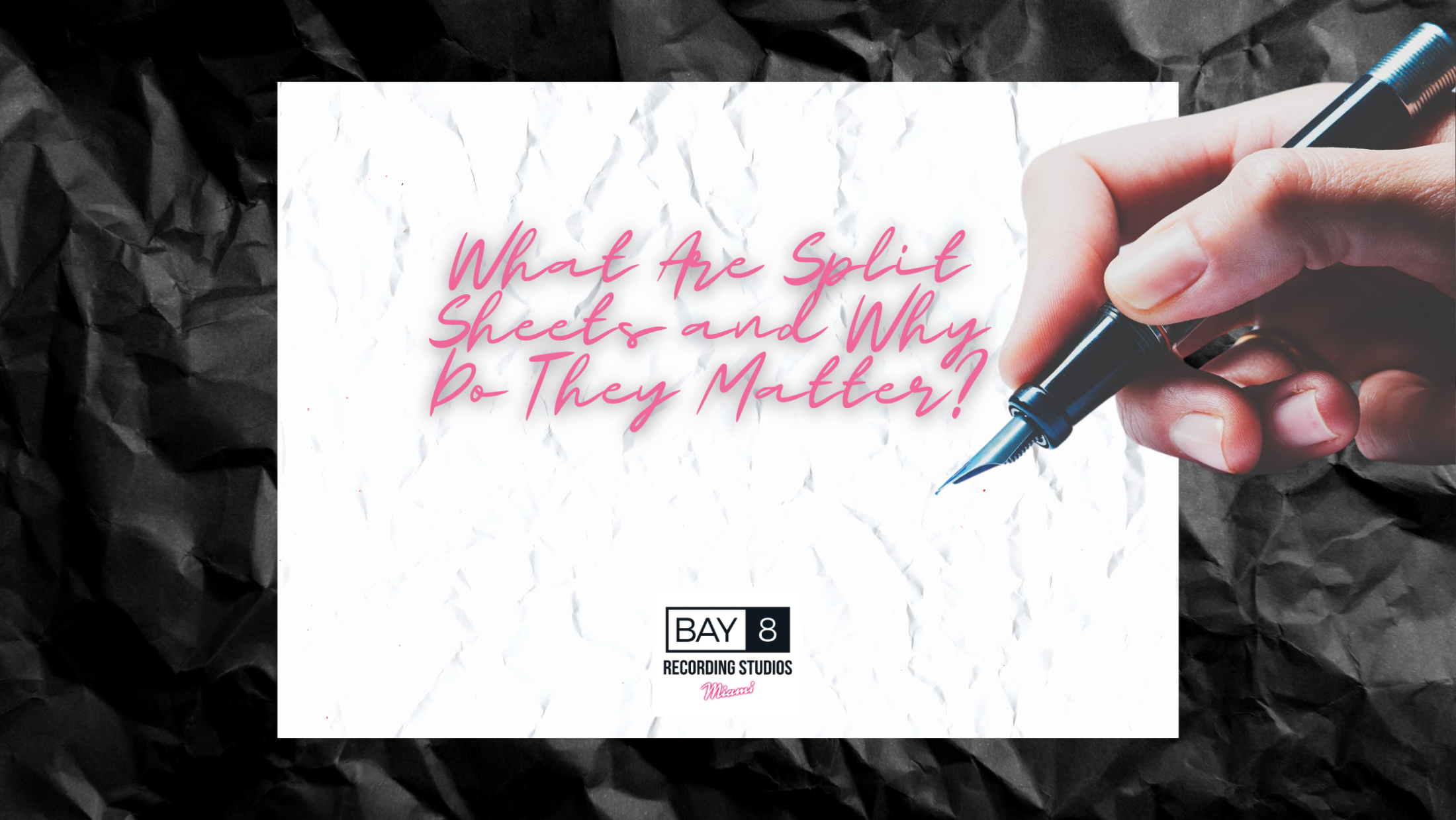 Bay Eight Recording Studios What Are Split Sheets and Why Do They Matter? 2